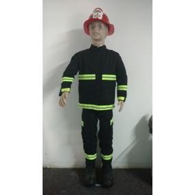 Trajes Disfraz De Bombero Para Niños Con Casco Bomberomania
