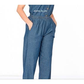 Pantalon De Jean Tipo Mono Liga, Casual, Todas Las Edades