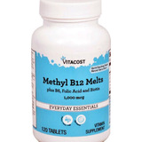 Vitamina B12 Sublingual 1000mcg 120 Tabletes Metilcobalamina