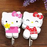 Set De Percheros De Madera Hello Kitty