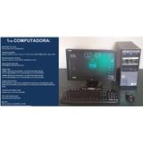 Computadora, Monitor Lcd, Impresora, Cpu, Targeta De Video