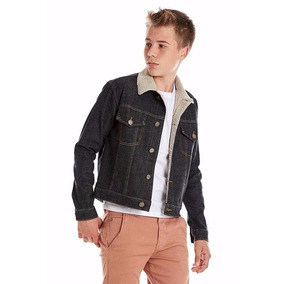 Jaqueta Jeans Masc. Forrada Pelo Estilo Carneiro Tam 12 À 18