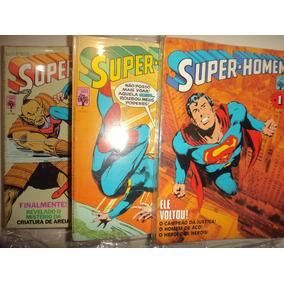 Super Homem 1 A147 Completa Editora Abril Frete Gratis