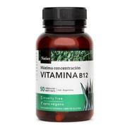 Vitamina B12 Concentrada X 50 Caps - Natier