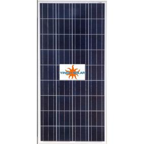 Kit Iluminação Mais Painel Solar Fotovoltaico De 150 Watts