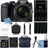 Nikon Coolpix B500 Cámara Digital (negro) Ultimate Starters