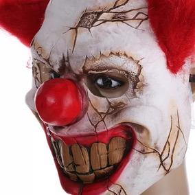 Máscara Palhaço Assustador Halloween Latex Dia Das Bruxas