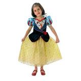 Disney Disfraz Princesas Blancanieves Talle L 7-8 Años