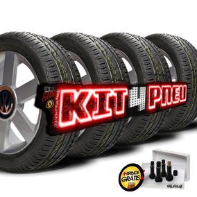 Kit 4 Pneu 205/55 R16 Remold Desenho Bridgestone 5 Anos Gtia