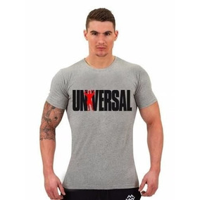 Novo Camiseta Camisa Manga Curta - Universal Gym Academia .