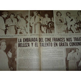 Embajada Cine Frances Clipping Recorte Revista Radiolandia