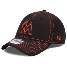 New Era Gorra Mlb Marlines Miami 3930 Black Neo M/l