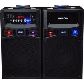Altavoz Activo Portatil Con Bluetooth Philco Djp180bt