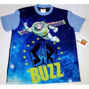 Playera Traje De Baño Niño Toy Story Buzz 10 Años
