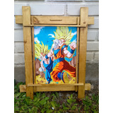 Cuadros Artesanales Anime Dragon Ball Z