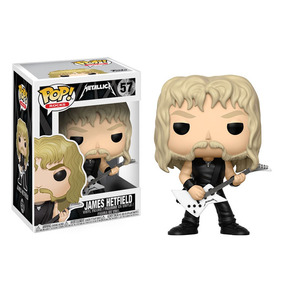 Funko Pop Rocks James Hetfield Metallica Pronta Entrega #57
