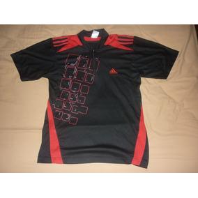 L Remera adidas Ciclismo Rojo Negro Art 20606