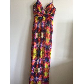 Vestido Formal Aidan Mattox Alta Costura Preloved Luxury