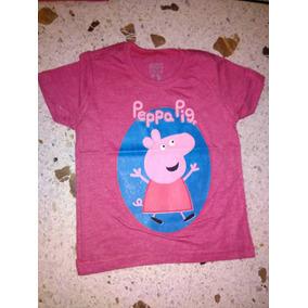 Peppa Pig Franela Camisa Tienda Fisica