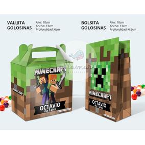Kit Imprimible De Minecraft Personalizado Kits Personalizados En