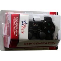 Controle Feir Play 2 Ps2 Barato Play 2 + 2 Jogos Diversos!!!