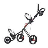 Caddytek Superlite Deluxe Golf Carrito, Negro