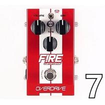Pedal Fire Overdrive Fire Custom Shop - Novo!