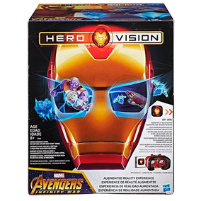 Avengers Iron Man Hero Vision Mascara Realidad Virtual