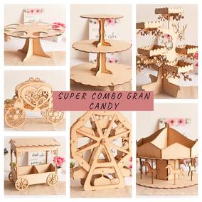 Gran Candy Bar - Diseños Grandes 7 Piezas