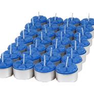 12 Velas Aromáticas Lavanda Aromatizada Luxo Rechaud Aroma