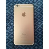 Iphone 6 Plus 16 Gb Gold Dorado Perfecto Estado! Con Caja!
