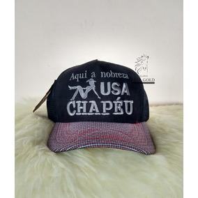 Chapeu Country Boinas - Bonés para Masculino no Mercado Livre Brasil d5b0c4ca242
