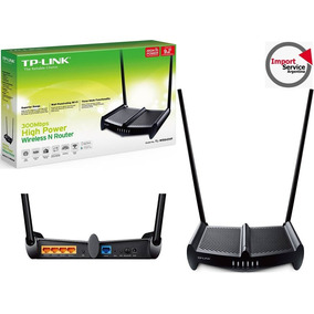 Router Tp-link Tl-wr841hp Alta Potencian 300mbps Rompe Muros