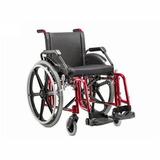 Cadeira De Rodas Jaguaribe Fit 44 Vinho Desmontavel