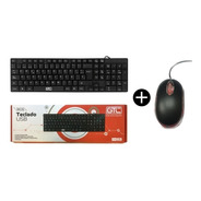 Combo Teclado Mouse Usb 2.0 Pc Notebook 800dpi