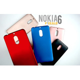 Funda Protector Jelly Case Protege Resiste Nokia 6 Colores