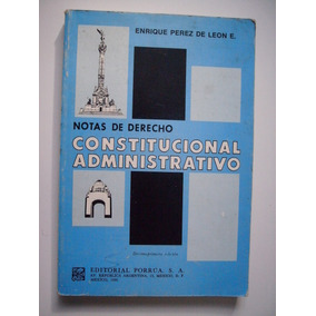 Notas De Derecho Constitucional Administrativo - 1990