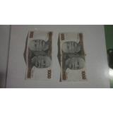 Dinheiro Antigo Notas De Mil Cruzeiros