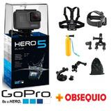Cámara Deportiva Gopro Hero 5 Black Gratis Accesorio