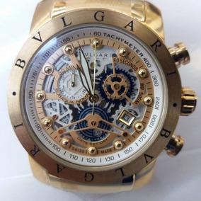 Relógio Bvlgari Squelette Ouro Branco - Relógios De Pulso no Mercado ... 8e1cbab092