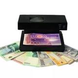 Detector Probador Billetes Falsos Luz Uv Lupa Ad-2138