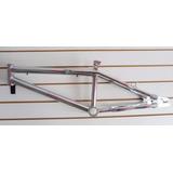 Quadro Aro 20 De Ferro Cross P/montagem Jô Bike