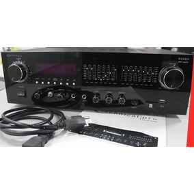 Technical Pro Mod. Rx-50ui Amplificador Profesional