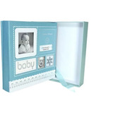 Álbum De Fotos - Diário Do Bebê - Azul Ou Rosa/ 200 Fotos