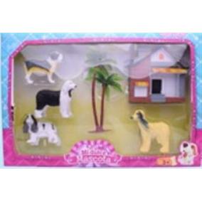 Set Muñecos Hogar Canino