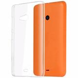 Funda Microsoft Lumia 540 Ultra Fina Transparente Nokia 540