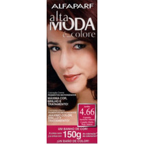 Alfaparf Alta Moda E Colore N°4.66 Castaño Medio Rojo Intens