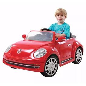 Carro Montable Electrico Vw Beetle Niños 6v Control Remoto