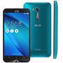 Celular Asus Zenfone Go Lte Zb500kl Azul 16gb Tela 5