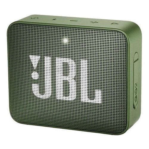 Alto-falante JBL Go 2 portátil com bluetooth moss green 110V/220V